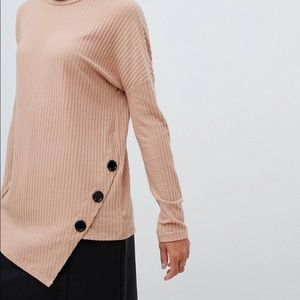 NWT New Look ASOS Ribbed Turtleneck - 8